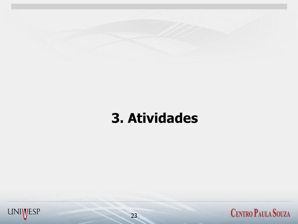 3. Atividades