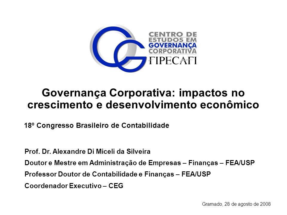 Governança Corporativa: impactos no crescimento e desenvolvimento econômico