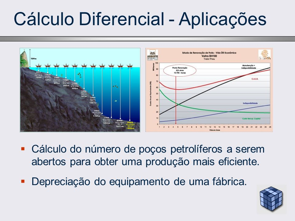 Cálculo Diferencial - Aplicações