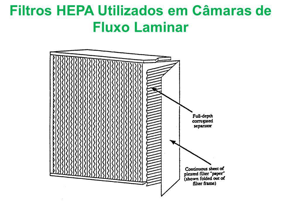 Filtros HEPA Utilizados em Câmaras de Fluxo Laminar