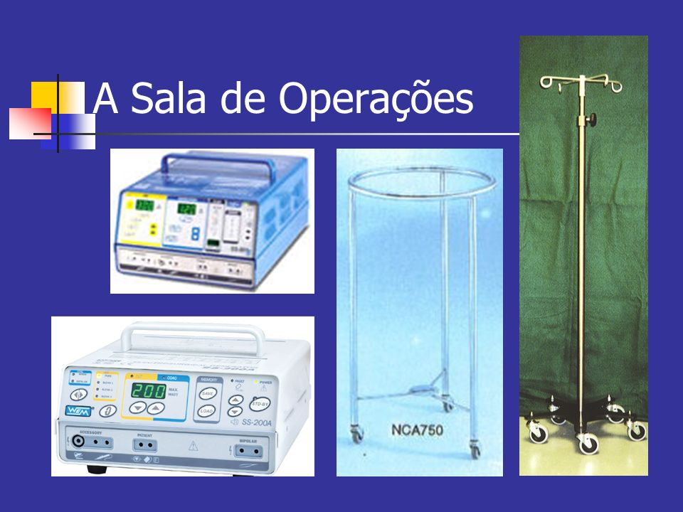 A Sala de Operações