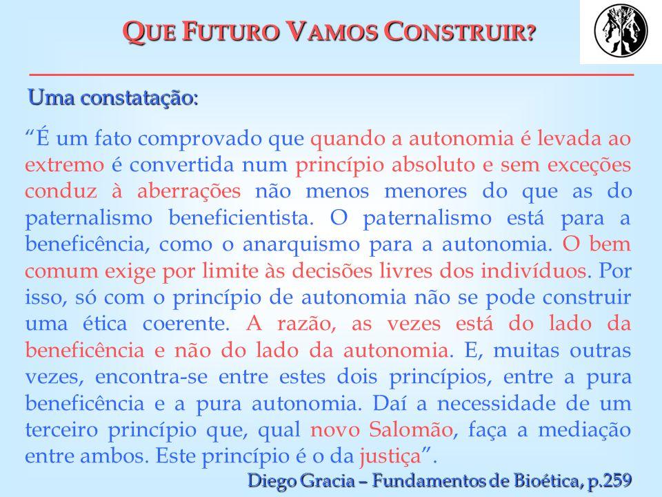 QUE FUTURO VAMOS CONSTRUIR
