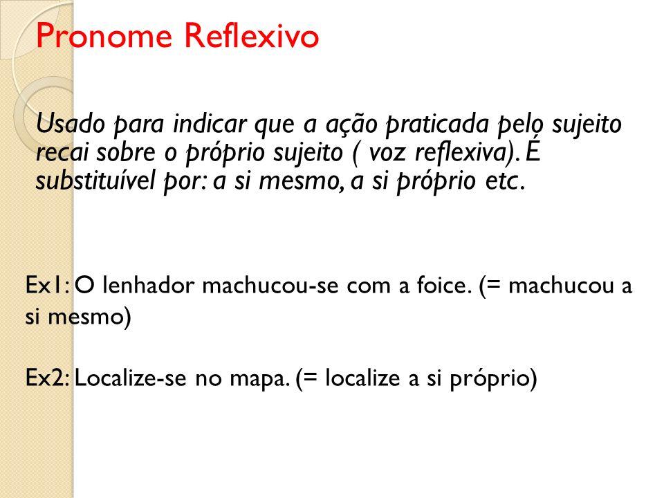 Pronome Reflexivo