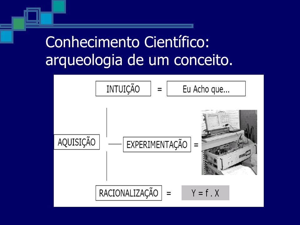 Conhecimento Científico: arqueologia de um conceito.