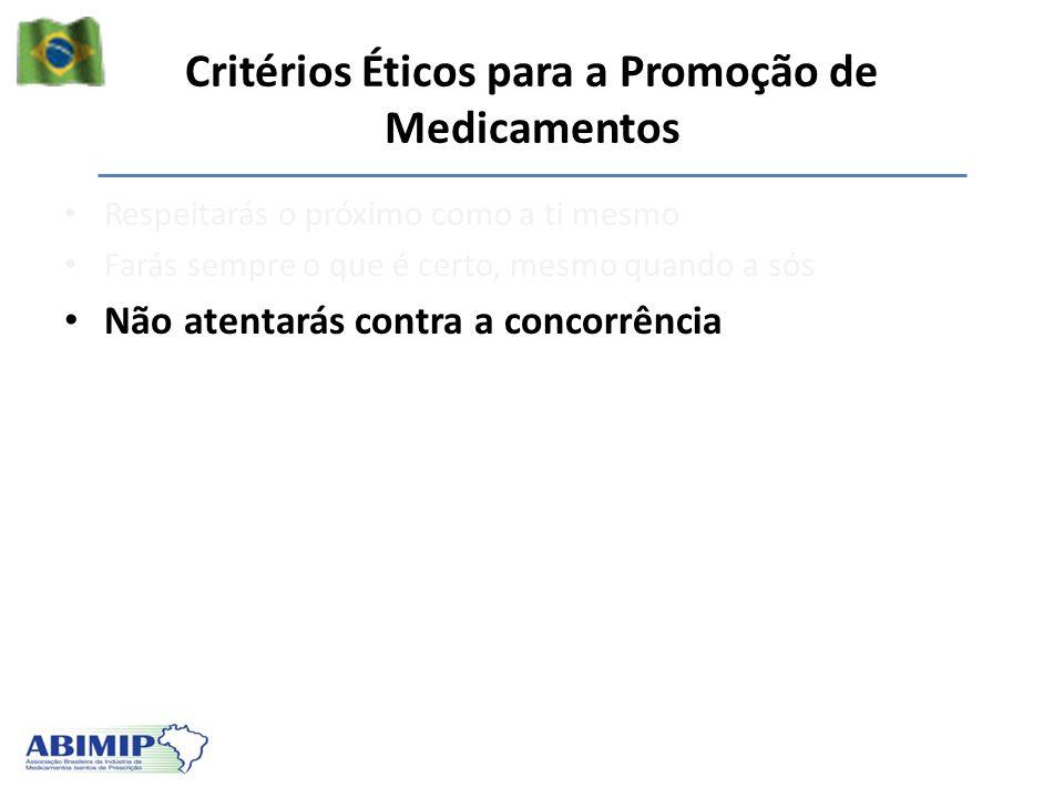 Critérios Éticos para a Promoção de Medicamentos
