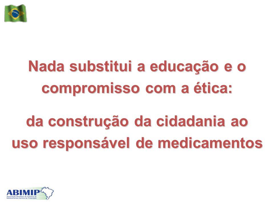 Nada substitui a educação e o compromisso com a ética: