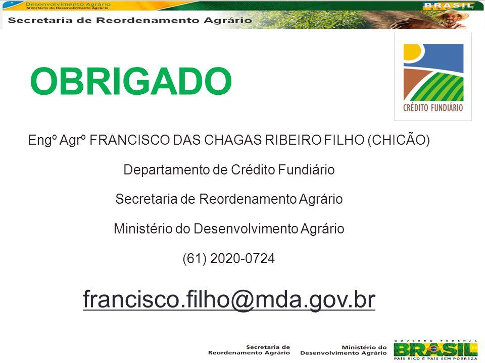 OBRIGADO francisco.filho@mda.gov.br