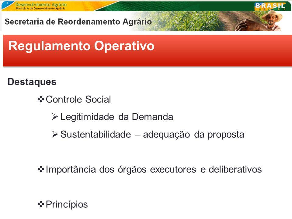 Regulamento Operativo