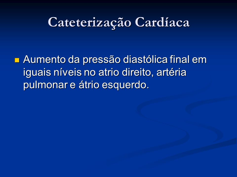 Cateterização Cardíaca