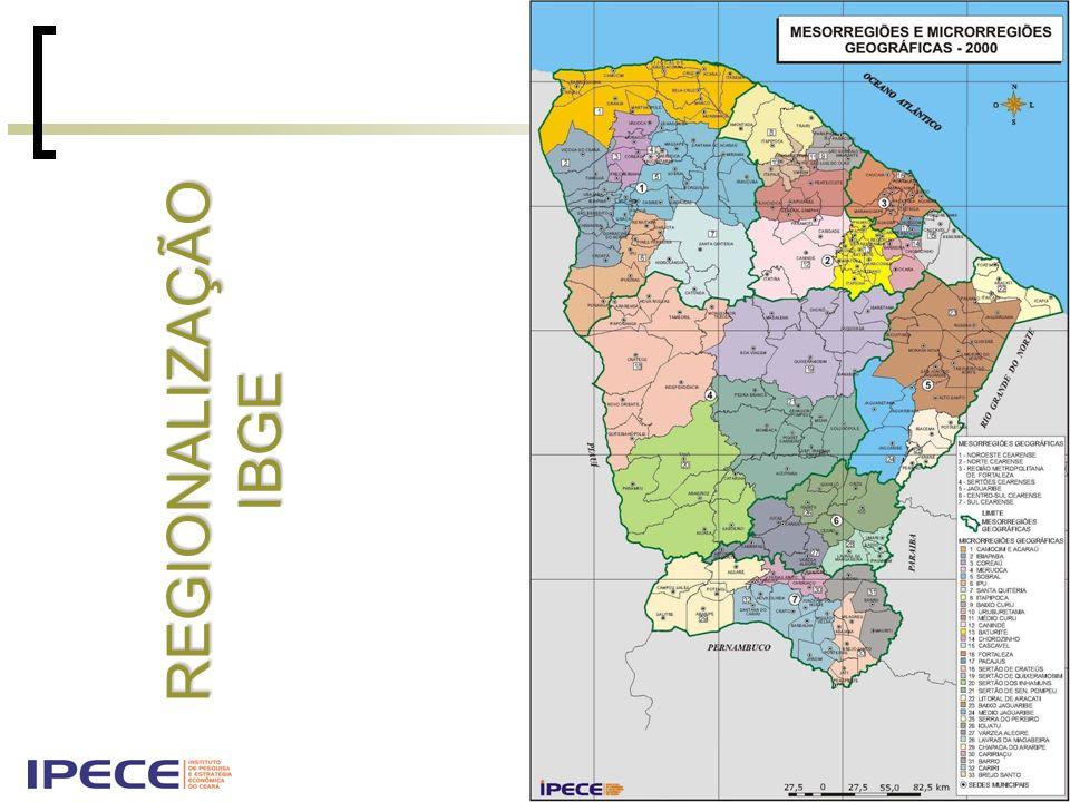 REGIONALIZAÇÃO IBGE