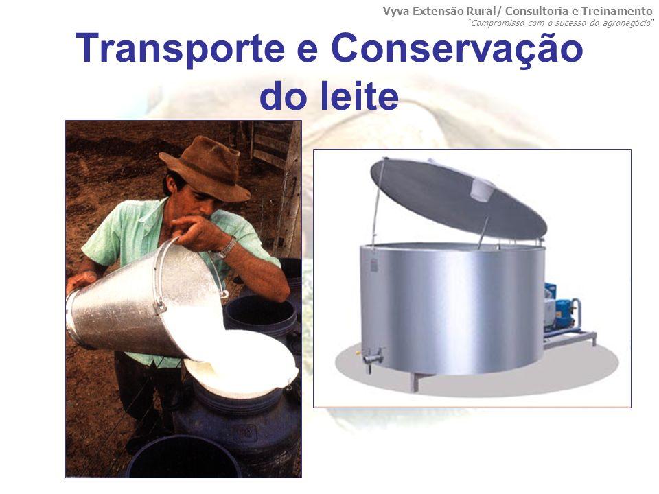 Transporte e Conservação do leite