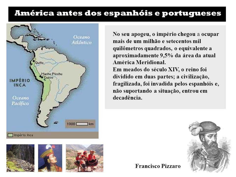 América antes dos espanhóis e portugueses