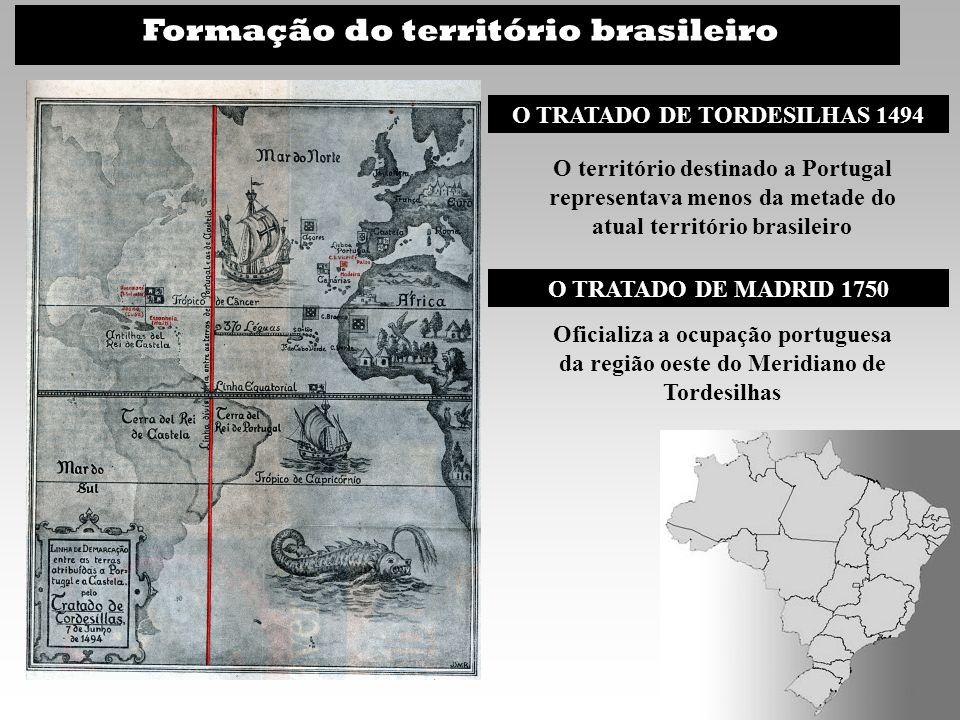 O TRATADO DE TORDESILHAS 1494