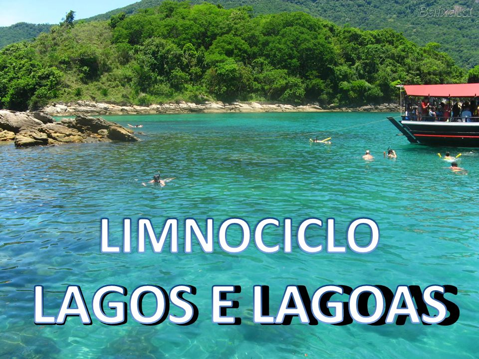 LIMNOCICLO LAGOS E LAGOAS