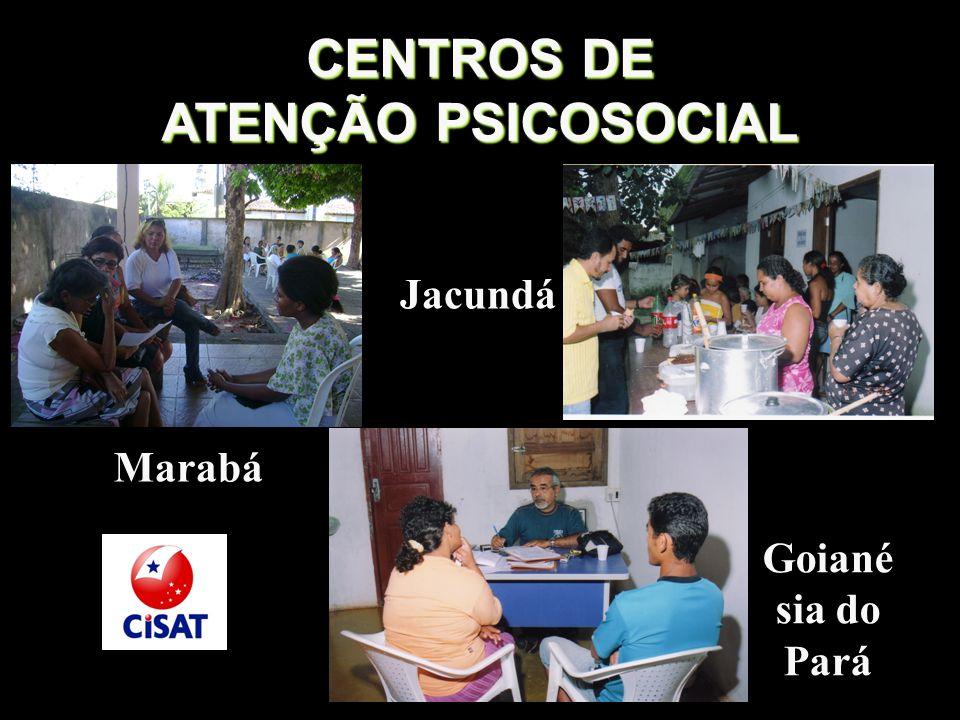 CENTROS DE ATENÇÃO PSICOSOCIAL