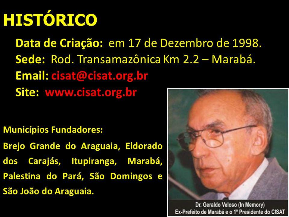 HISTÓRICO Data de Criação: em 17 de Dezembro de 1998.