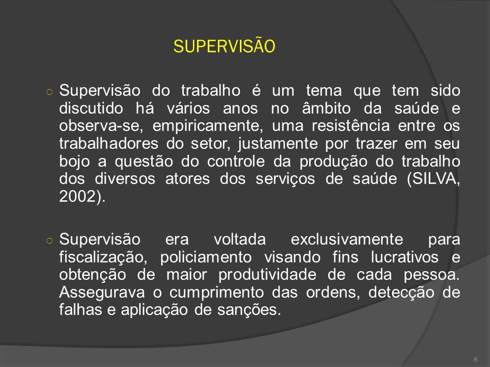SUPERVISÃO