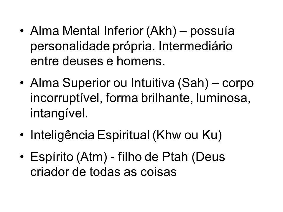 Alma Mental Inferior (Akh) – possuía personalidade própria