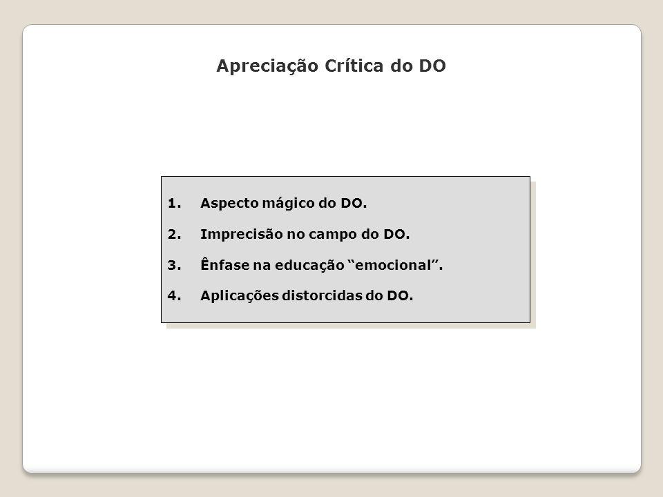 Apreciação Crítica do DO