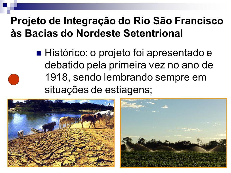 Projeto de Integração do Rio São Francisco às Bacias do Nordeste Setentrional