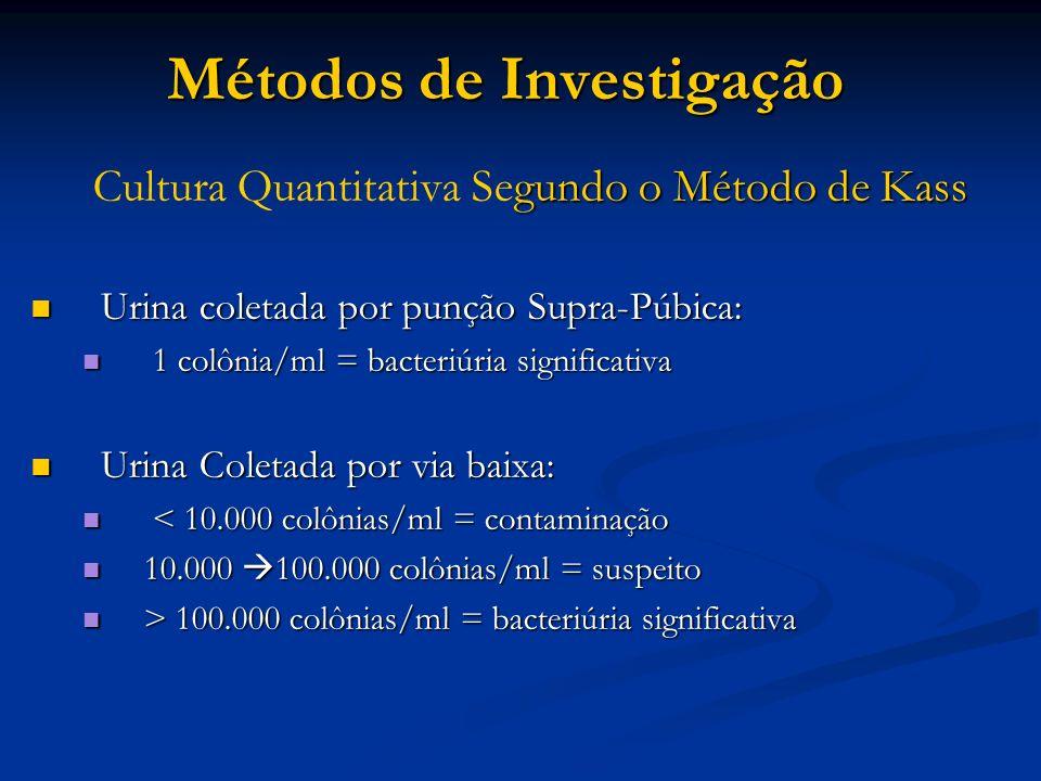 Métodos de Investigação