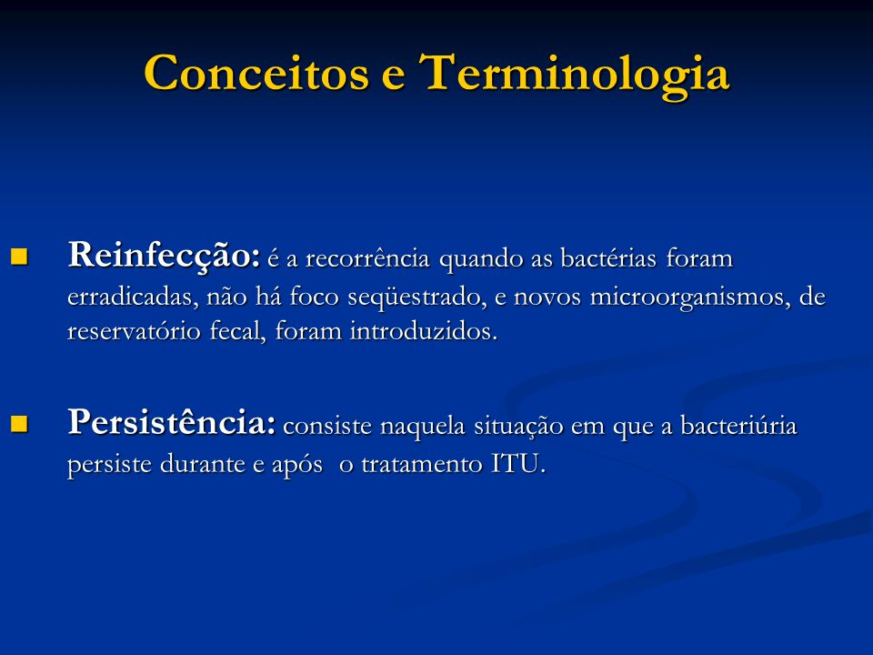 Conceitos e Terminologia