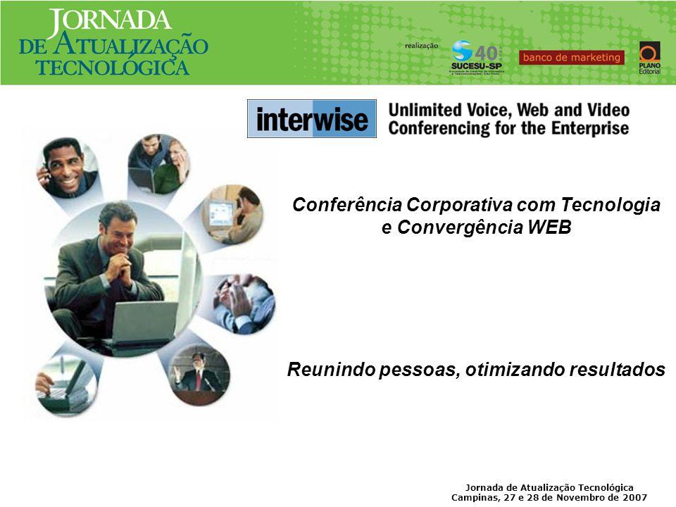 Conferência Corporativa com Tecnologia e Convergência WEB