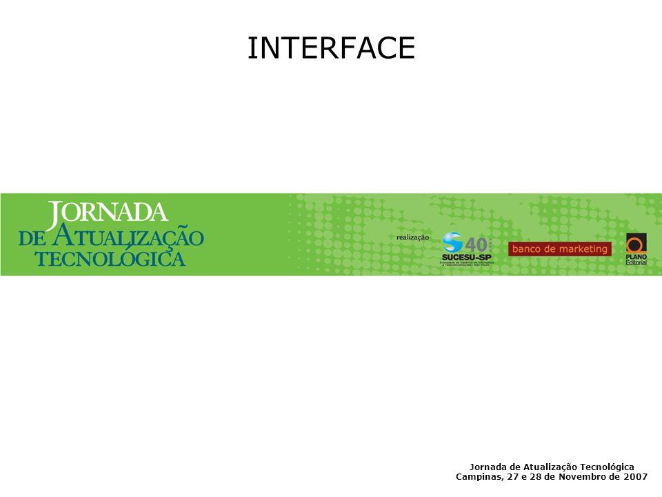 INTERFACE Jornada de Atualização Tecnológica
