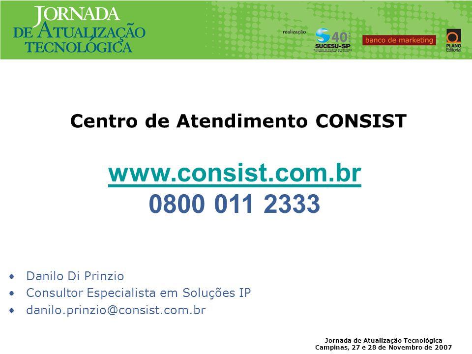 Centro de Atendimento CONSIST