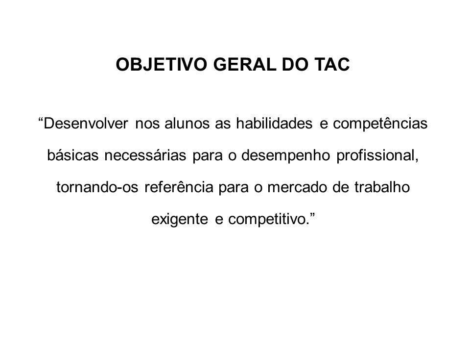 OBJETIVO GERAL DO TAC