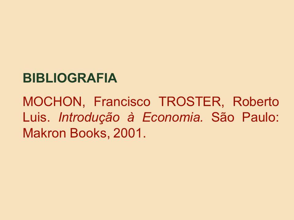 BIBLIOGRAFIA MOCHON, Francisco TROSTER, Roberto Luis.