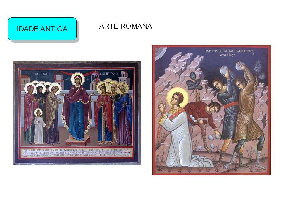 IDADE ANTIGA ARTE ROMANA