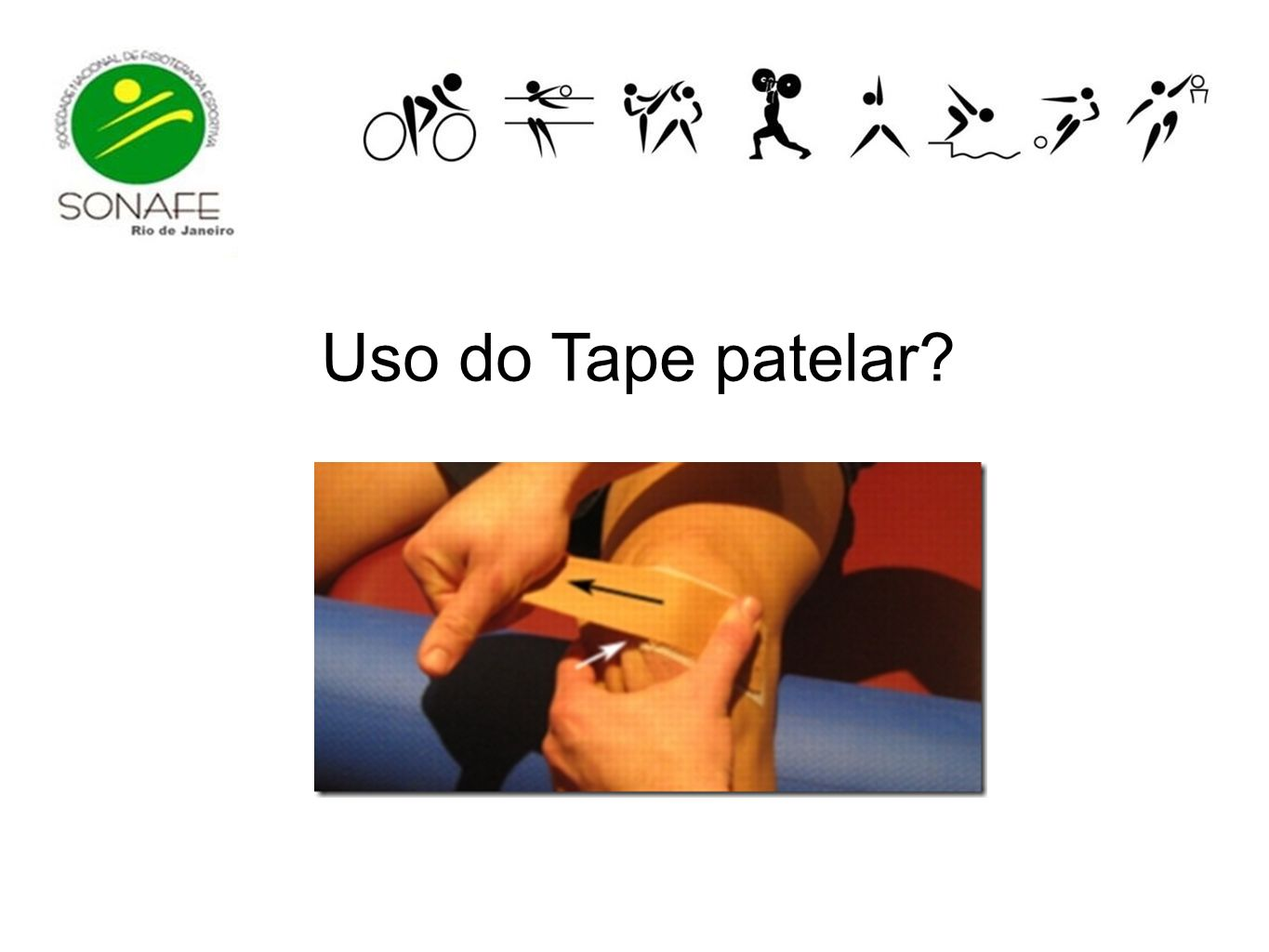 Uso do Tape patelar