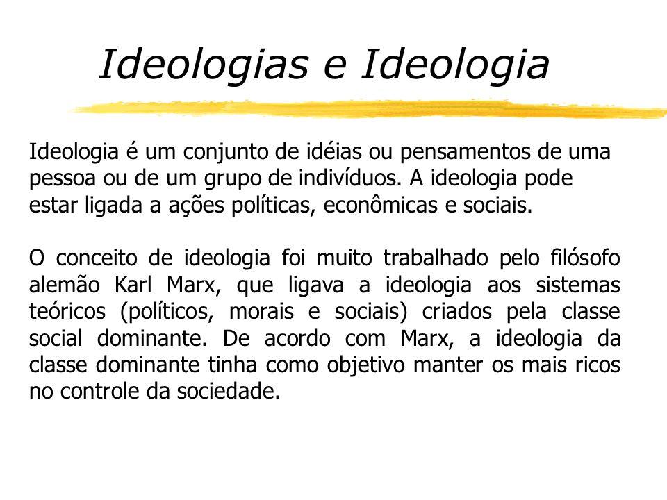Ideologias e Ideologia