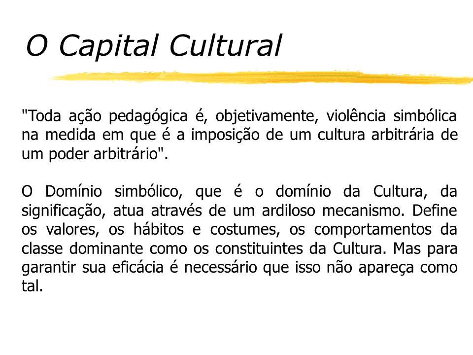O Capital Cultural