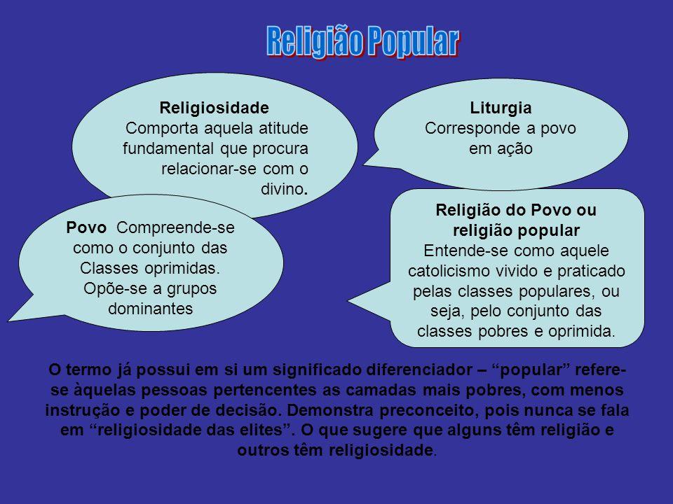 Religião do Povo ou religião popular