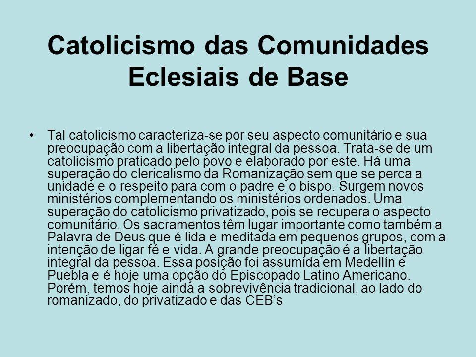 Catolicismo das Comunidades Eclesiais de Base