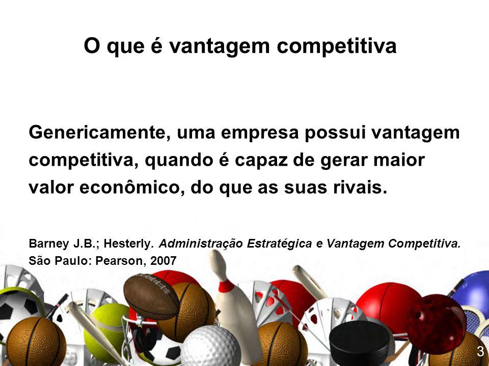 O que é vantagem competitiva