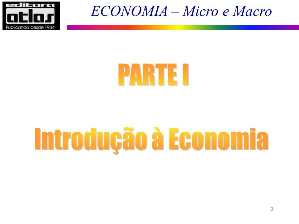 PARTE I Introdução à Economia