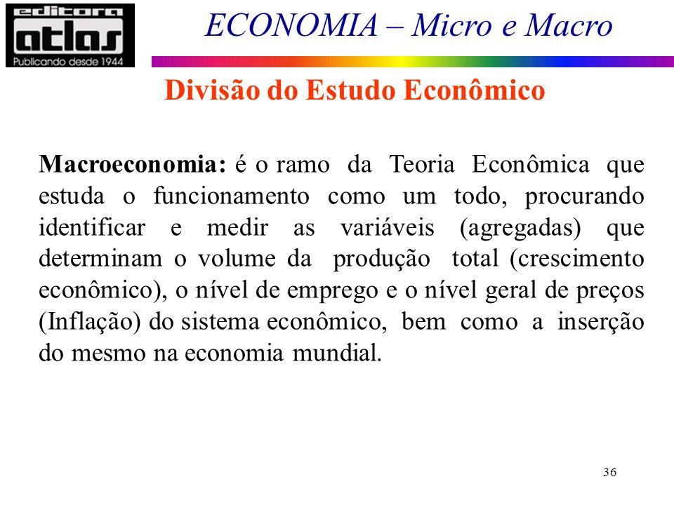 Divisão do Estudo Econômico
