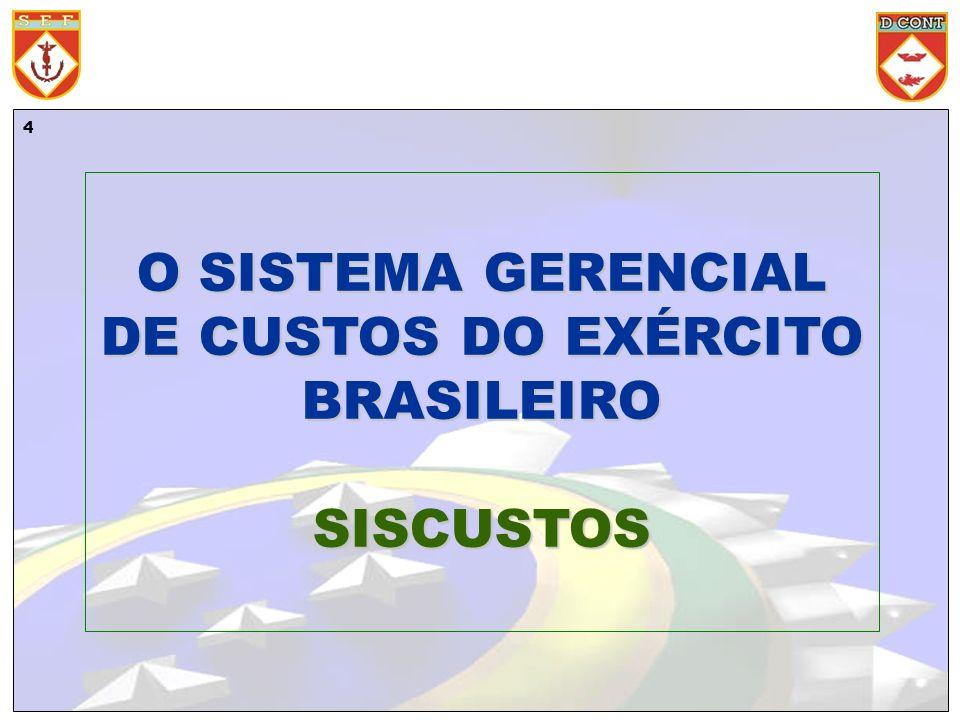 O SISTEMA GERENCIAL DE CUSTOS DO EXÉRCITO BRASILEIRO