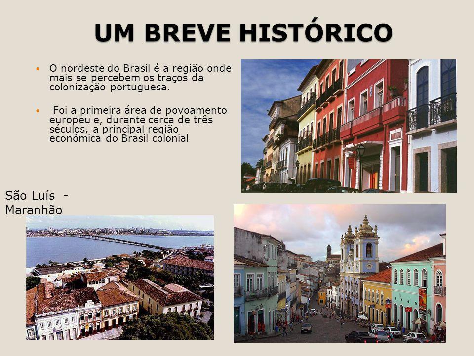 UM BREVE HISTÓRICO São Luís - Maranhão