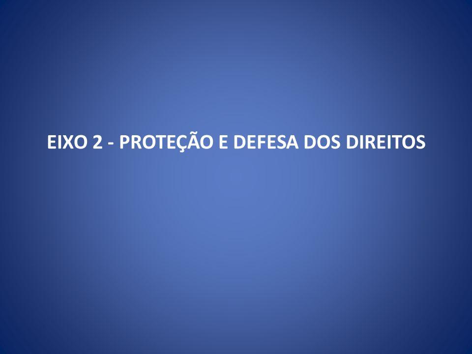 EIXO 2 - PROTEÇÃO E DEFESA DOS DIREITOS