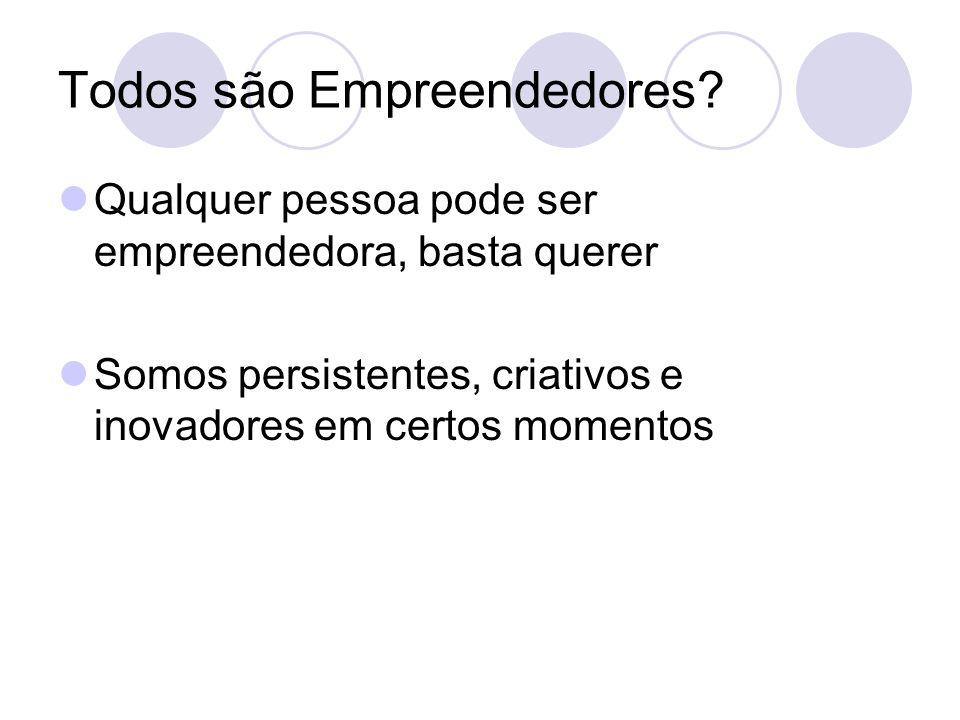 Todos são Empreendedores
