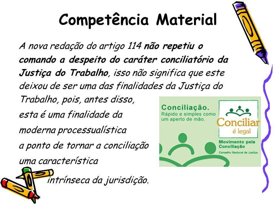 Competência Material