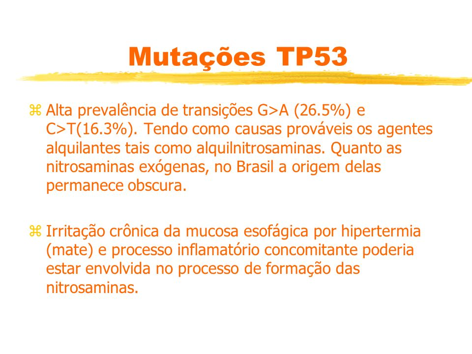 Mutações TP53