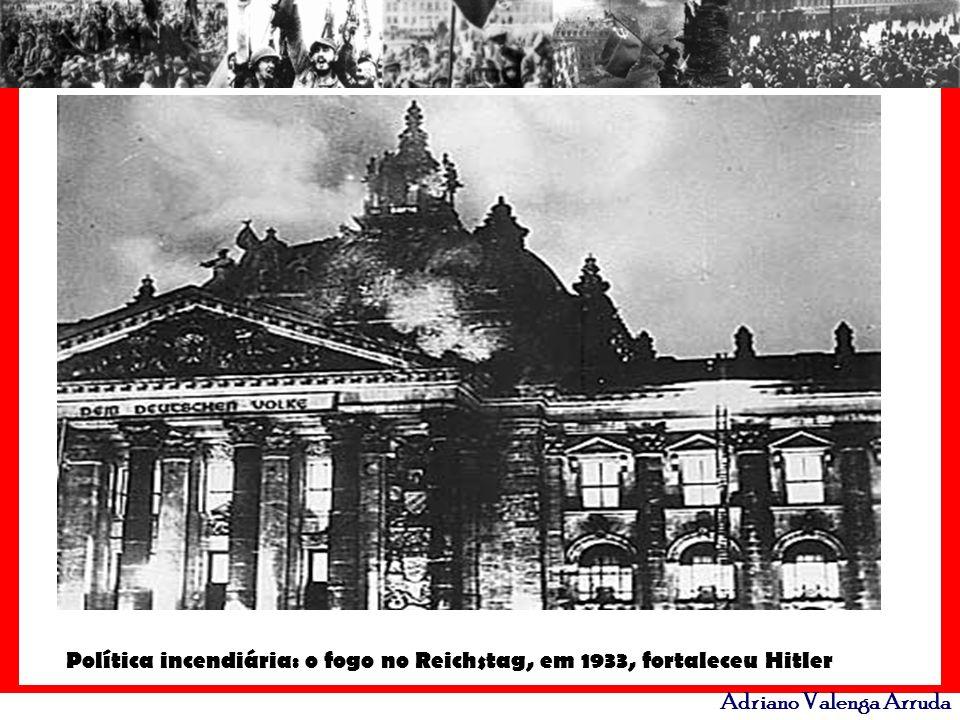 Política incendiária: o fogo no Reichstag, em 1933, fortaleceu Hitler