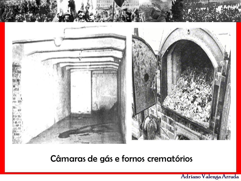 Câmaras de gás e fornos crematórios