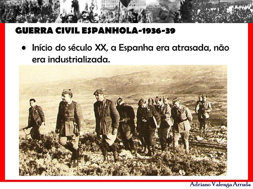 GUERRA CIVIL ESPANHOLA-1936-39