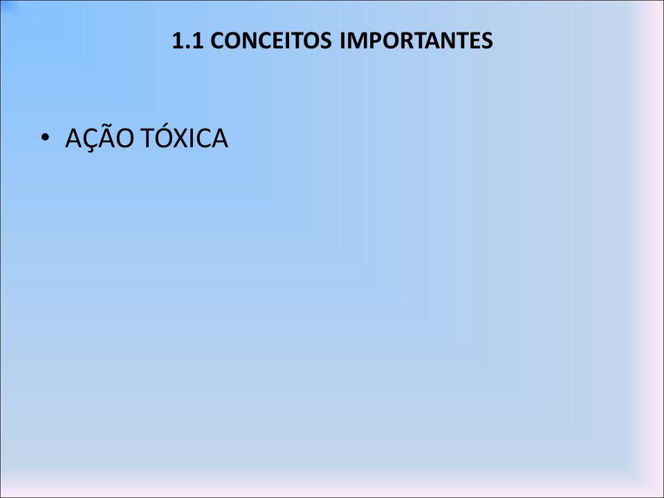 1.1 CONCEITOS IMPORTANTES